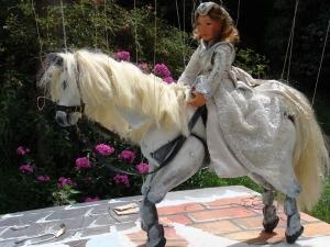 Marionnette bretagne Cheval blanc