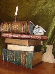 décors faux livres 2