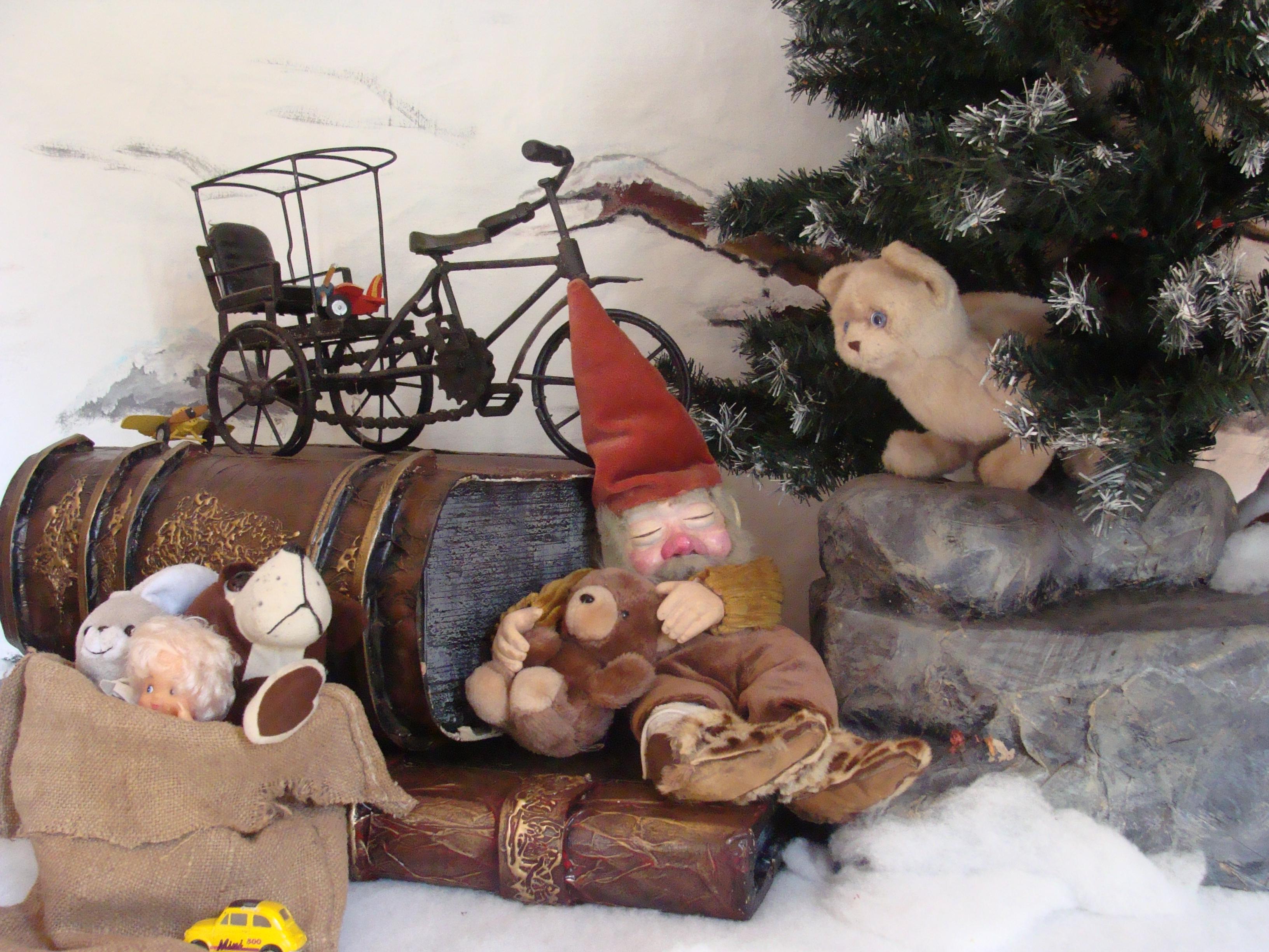 vitrine de Noël